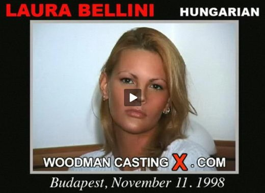 Laura Bellini - `Laura Bellini casting` - by Pierre Woodman for WOODMANCASTINGX