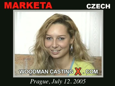 Marketa - `Marketa casting` - by Pierre Woodman for WOODMANCASTINGX