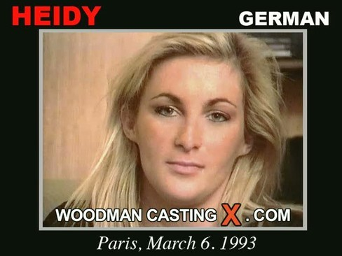 Heidy - `Heidy casting` - by Pierre Woodman for WOODMANCASTINGX
