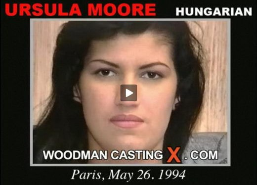 Ursula Moore - `Ursula Moore casting` - by Pierre Woodman for WOODMANCASTINGX