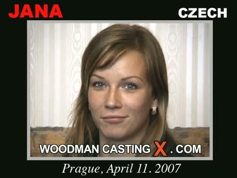 Jana - `Jana casting` - by Pierre Woodman for WOODMANCASTINGX