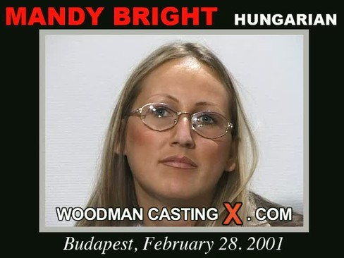 Mandy Bright - `Mandy Bright casting` - by Pierre Woodman for WOODMANCASTINGX