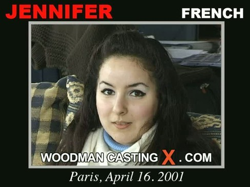 Jennifer - `Jennifer casting` - by Pierre Woodman for WOODMANCASTINGX