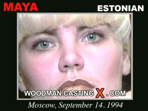 Maya - `Maya casting` - by Pierre Woodman for WOODMANCASTINGX
