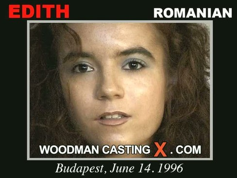 Edith - `Edith casting` - by Pierre Woodman for WOODMANCASTINGX
