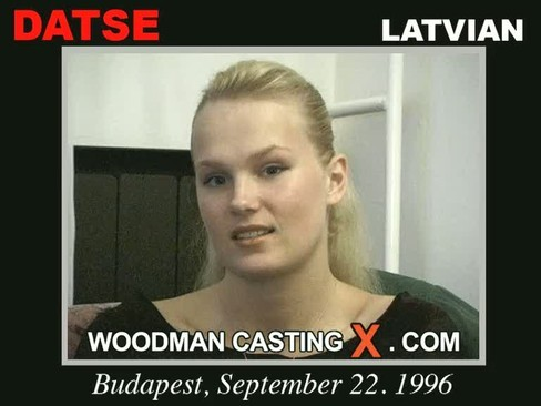 Datse - `Datse casting` - by Pierre Woodman for WOODMANCASTINGX