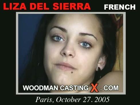 Liza Del Sierra - `Liza Del Sierra casting` - by Pierre Woodman for WOODMANCASTINGX
