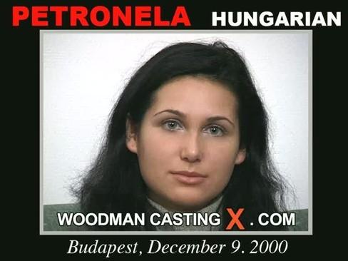 Petronela - `Petronela casting` - by Pierre Woodman for WOODMANCASTINGX