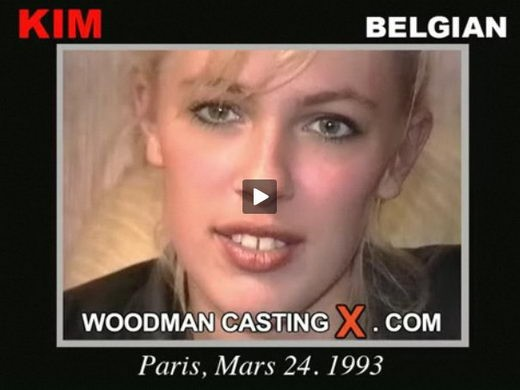 Kim - `Kim casting` - by Pierre Woodman for WOODMANCASTINGX
