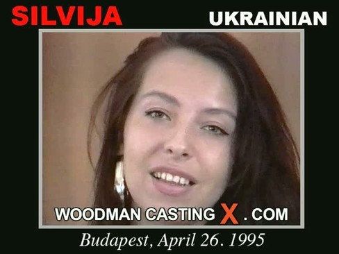 Silvija - `Silvija casting` - by Pierre Woodman for WOODMANCASTINGX