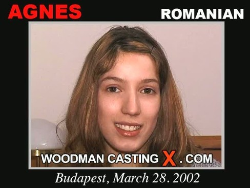 Agnes - `Agnes casting` - by Pierre Woodman for WOODMANCASTINGX