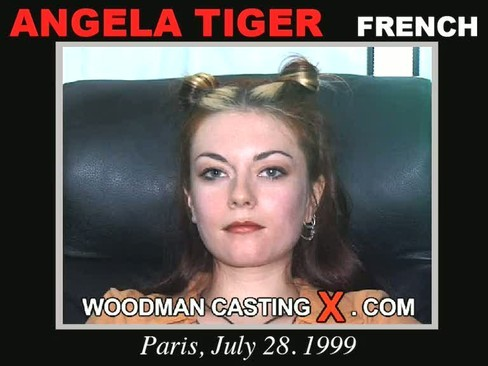 Angela Tiger - `Angela Tiger casting` - by Pierre Woodman for WOODMANCASTINGX