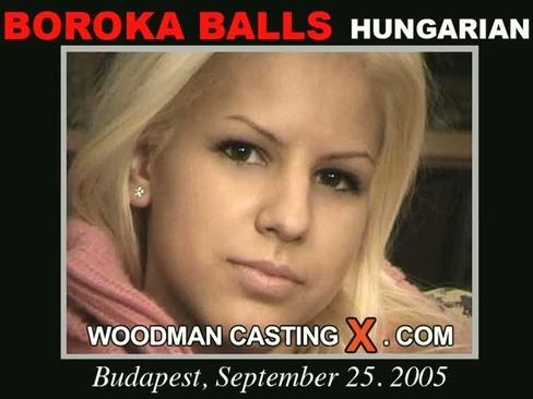 Boroka Balls casting video from WOODMANCASTINGX by Pierre Woodman