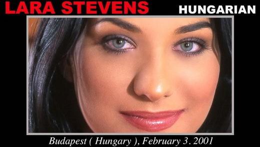 Lara Stevens - `Lara Stevens - Casting X 55 casting` - by Pierre Woodman for WOODMANCASTINGX