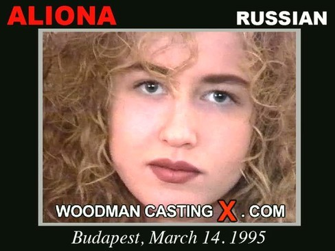 Aliona - `Aliona casting` - by Pierre Woodman for WOODMANCASTINGX