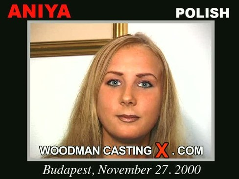 Aniya - `Aniya casting` - by Pierre Woodman for WOODMANCASTINGX