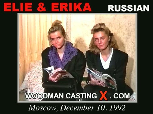 Erika and Elie - `Erika and Elie casting` - by Pierre Woodman for WOODMANCASTINGX