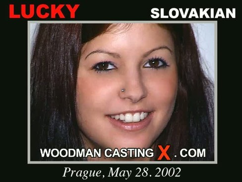 Lucky - `Lucky casting` - by Pierre Woodman for WOODMANCASTINGX