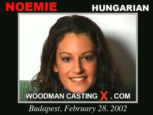 Noemie - `Noemie casting` - by Pierre Woodman for WOODMANCASTINGX
