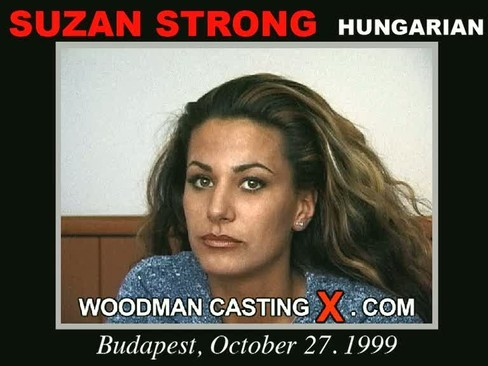 Suzan Strong - `Suzan Strong casting` - by Pierre Woodman for WOODMANCASTINGX