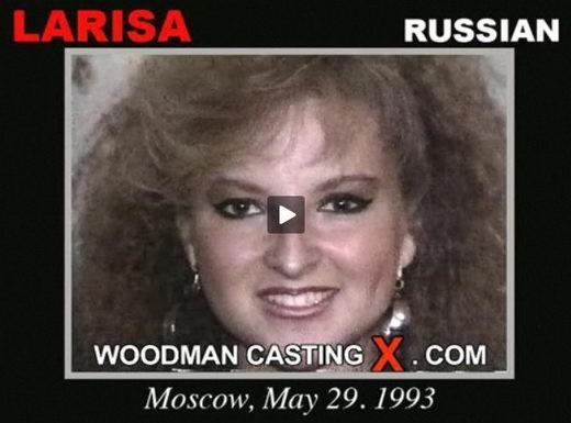 Larisa - `Larisa casting` - by Pierre Woodman for WOODMANCASTINGX