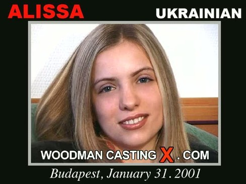 Alissa - `Alissa casting` - by Pierre Woodman for WOODMANCASTINGX