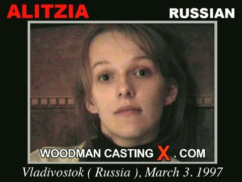 Alitzia - `Alitzia casting` - by Pierre Woodman for WOODMANCASTINGX