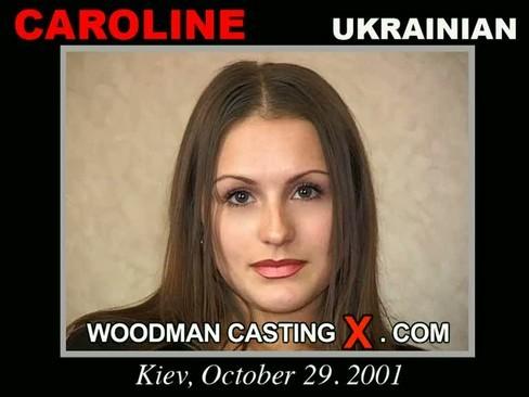 Caroline - `Caroline casting` - by Pierre Woodman for WOODMANCASTINGX