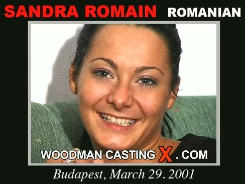 Sandra Romain - `Sandra Romain casting` - by Pierre Woodman for WOODMANCASTINGX