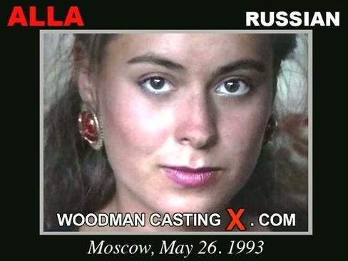 Alla - `Alla casting` - by Pierre Woodman for WOODMANCASTINGX