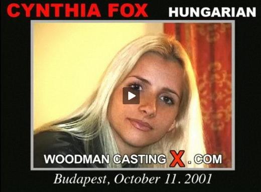 Cynthia Fox - `Cynthia Fox casting` - by Pierre Woodman for WOODMANCASTINGX