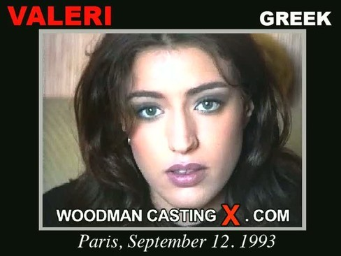 Valeri - `Valeri casting` - by Pierre Woodman for WOODMANCASTINGX