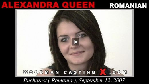 Alexandra Queen - `Alexandra Queen casting` - by Pierre Woodman for WOODMANCASTINGX