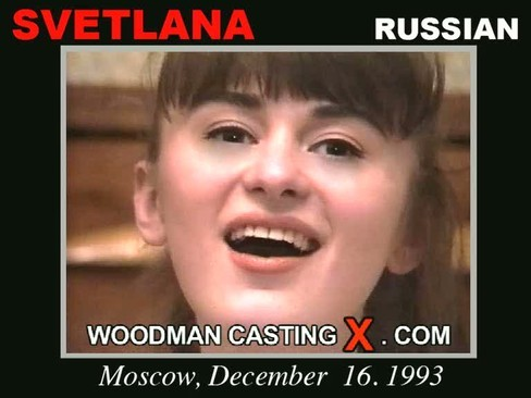Svetlana - `Svetlana casting` - by Pierre Woodman for WOODMANCASTINGX