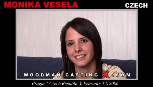 Monica Vesela - `Monica Vesela casting` - by Pierre Woodman for WOODMANCASTINGX