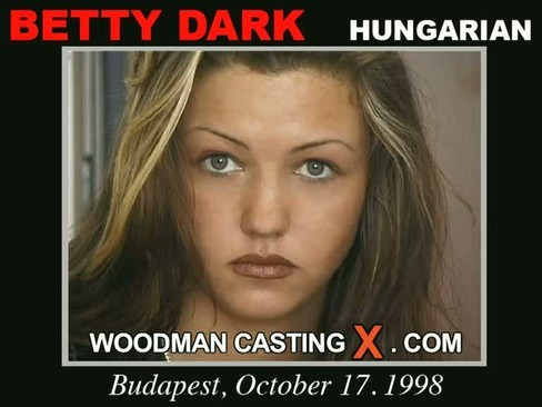 Betty Dark - `Betty Dark casting` - by Pierre Woodman for WOODMANCASTINGX