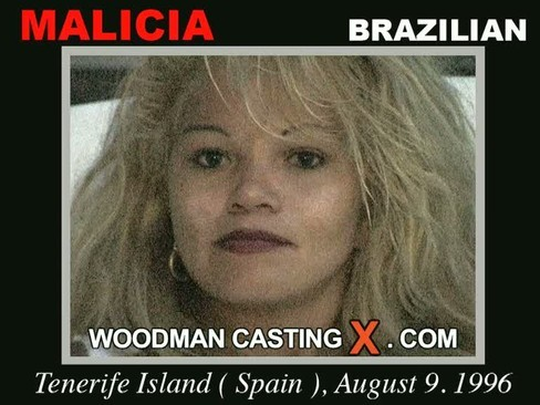 Malicia - `Malicia casting` - by Pierre Woodman for WOODMANCASTINGX