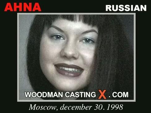 Ahna - `Ahna casting` - by Pierre Woodman for WOODMANCASTINGX