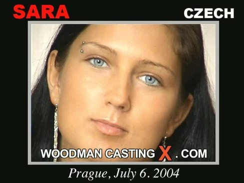 Sara - `Sara casting` - by Pierre Woodman for WOODMANCASTINGX