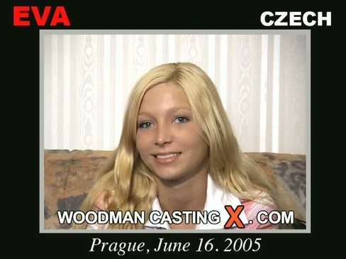 Eva - `Eva casting` - by Pierre Woodman for WOODMANCASTINGX