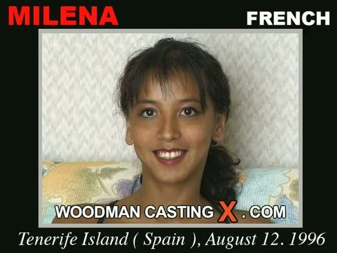 Milena - `Milena casting` - by Pierre Woodman for WOODMANCASTINGX