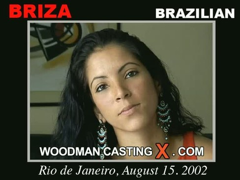 Briza - `Briza casting` - by Pierre Woodman for WOODMANCASTINGX