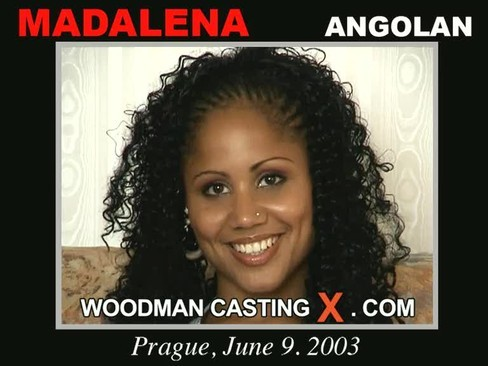 Madalena - `Madalena casting` - by Pierre Woodman for WOODMANCASTINGX
