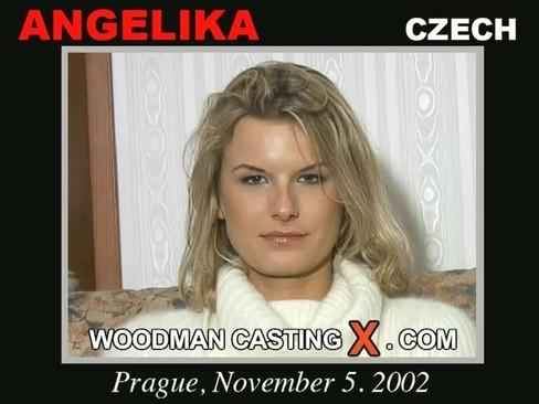 Angelika - `Angelika casting` - by Pierre Woodman for WOODMANCASTINGX