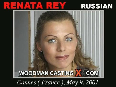 Renata Rey - `Renata Rey casting` - by Pierre Woodman for WOODMANCASTINGX
