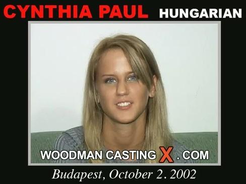 Cynthia Paul - `Cynthia Paul casting` - by Pierre Woodman for WOODMANCASTINGX