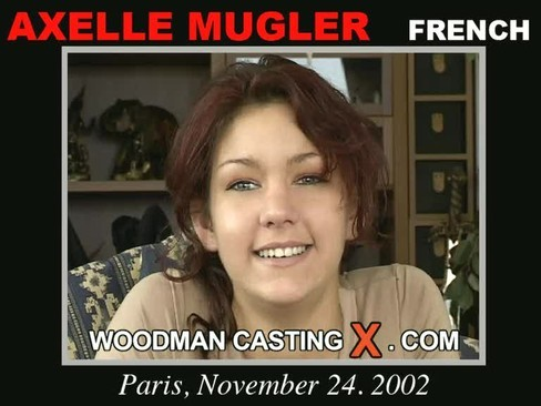 Axelle Mugler - `Axelle Mugler casting` - by Pierre Woodman for WOODMANCASTINGX