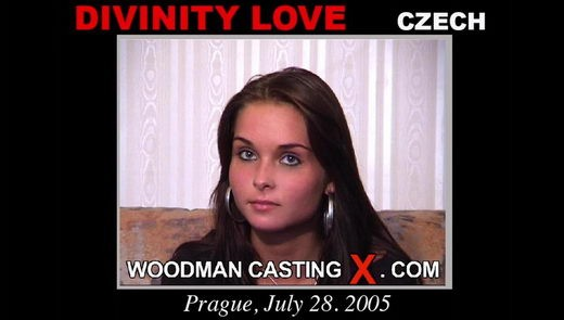 Divinity Love - `Divinity Love casting` - by Pierre Woodman for WOODMANCASTINGX