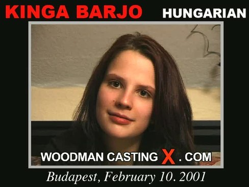 Kinga Barjo - `Kinga Barjo casting` - by Pierre Woodman for WOODMANCASTINGX