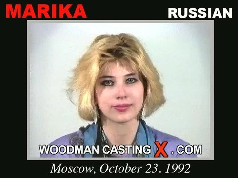 Marika - `Marika casting` - by Pierre Woodman for WOODMANCASTINGX